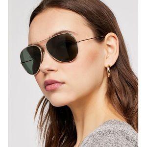 NWT {Free People} Austin Aviator Sunglasses